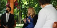 Návšteva pani prezidentky v Domove sociálnych služieb pre dospelých Lehnice