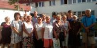 Vystúpenie spevokolu Radosť z obce Miloslavov spolu so starostom obce p. Milanom Baďanským