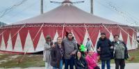 Návšteva cirkusu Metropol