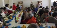 Klientky zaspievali vianočné pesničky a koledy