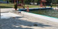 Zaplávanie si v plaveckom bazéne